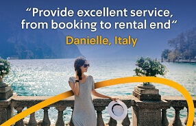 Provide excellent service, from booking to rental end