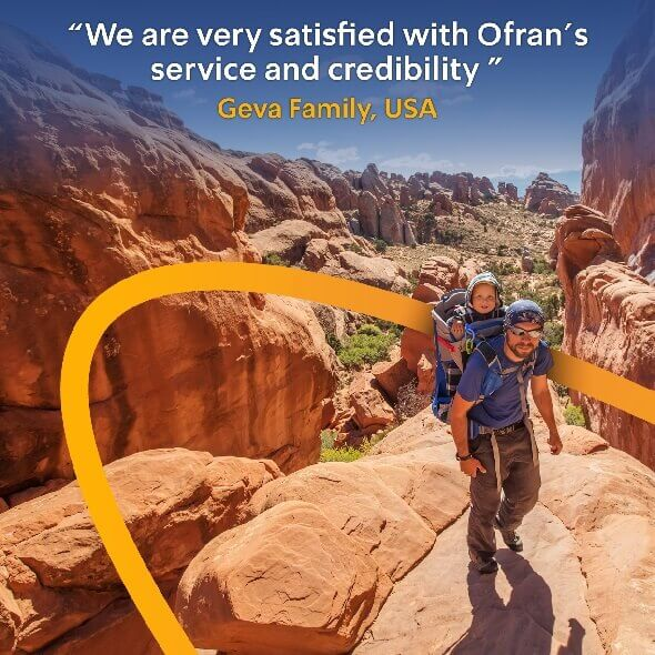 I'm very satisfied with Ofran's service and credibility